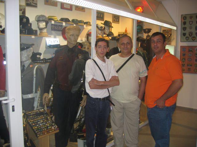 Visita al Museo de la Policia Local de Totana