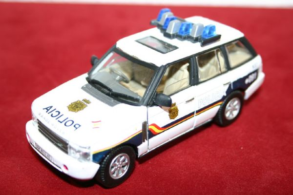 Vehiculo Miniatura Cuerpo Nacional de Policia