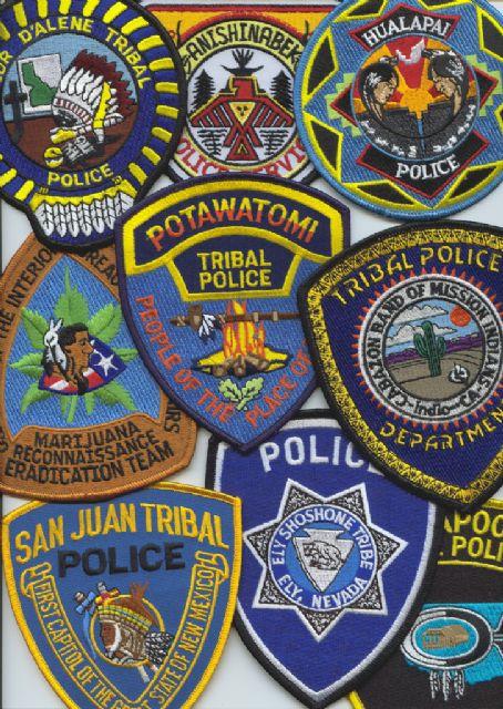 Varios Tribal Police USA / Canadá