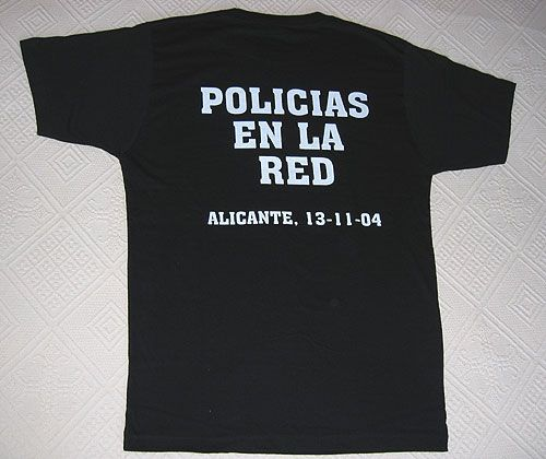 Camiseta POLICIAS EN LA RED