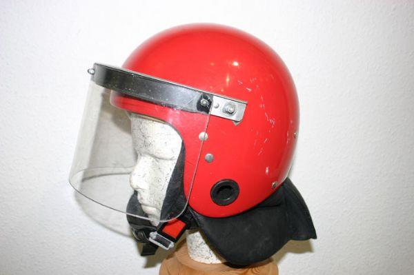 Casco Antidisturbios Policia Autonoma Vasca