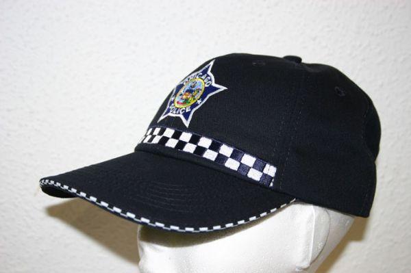 Gorra Policia de Chicago (U.S.A.)  Agente