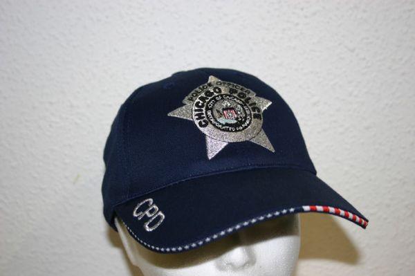 Gorra de Oficial  Policia de Chicago  (U.S.A.)