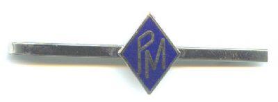 Pisa corbatas Policia Municipal Generico Fondo Azul