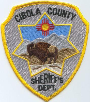 Emblema Brazo Policia Cibola (Nuevo Mexico) U.S.A.