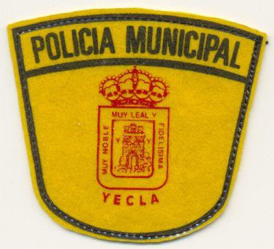 Antiguo Emblema de Brazo de Policia Local de Yecla (Murcia)