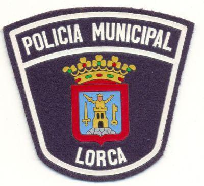 Antiguo Emblema de Brazo de Policia Local de Lorca (Murcia)