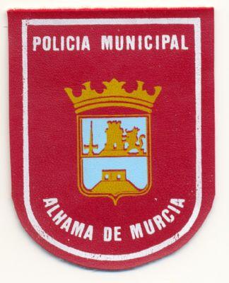Antiguo Emblema de Brazo de Policia Local de Alhama de Murcia (Murcia)
