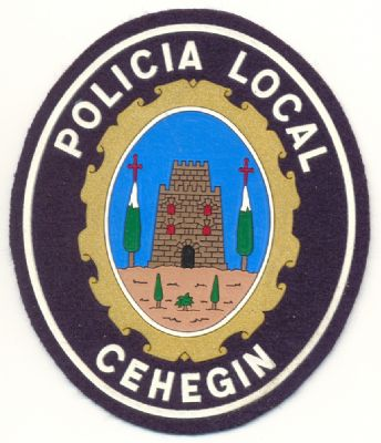 Antiguo Emblema de Brazo de Policia Local de Cehegin  (Murcia)
