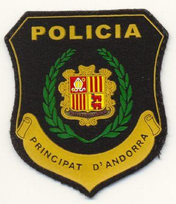Emblema de Brazo de Policia del Principado de Andorra
