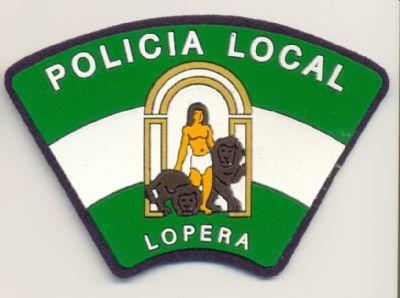 Emblema de brazo de Lopera  (Andalucia)