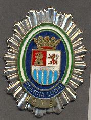 Placa Metálica de Pecho de Castro del Rio (Cordoba)