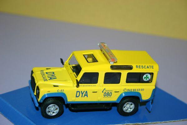 Miniatura Land Rover  Servicio Emergencias DYA RESCATE