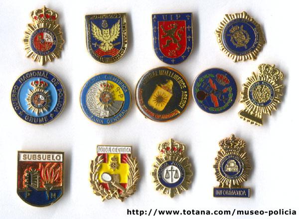 Pins policiales varios