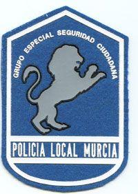 Emblema Brazo  Grupo Especial Seguridad Ciudadana