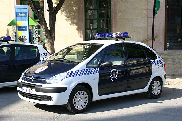 Citroën Xsara Picasso. Policía Local Totana