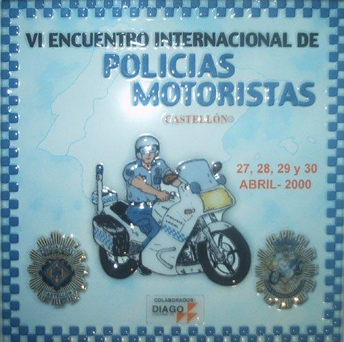 Concentracion policias motoristas 2000