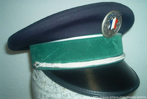 Gorra Policia Nacional (Francia)