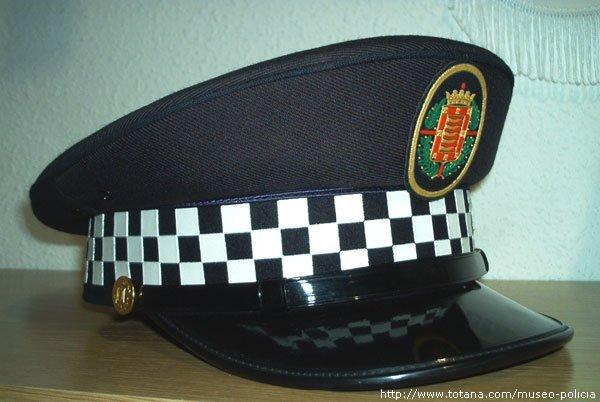 Gorra Policia Valladolid