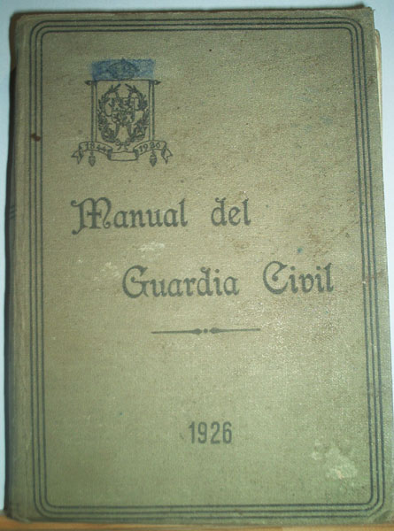 Manual de la Guardia Civil (1926)