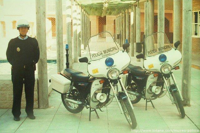 Motos Policía Local Totana