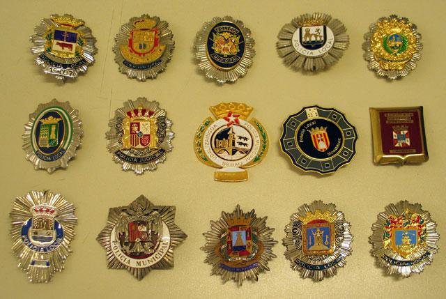 Placas metalicas varias