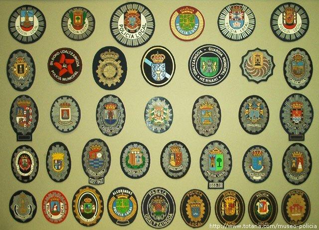 Policia Local (pecho) España