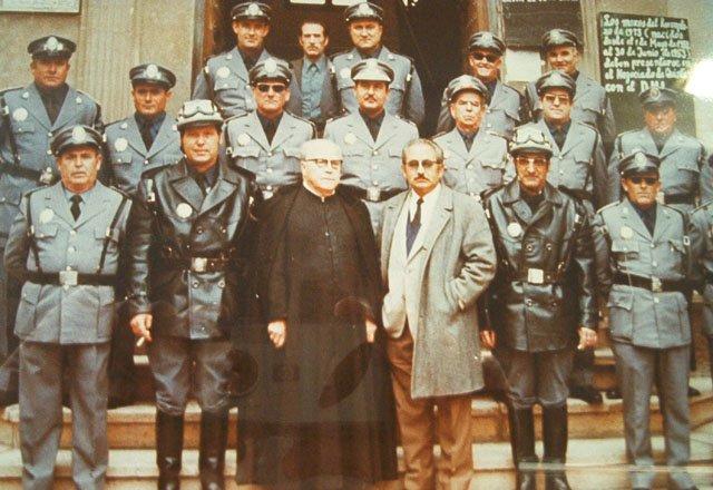 Toma de Posesión de Policias Municipales 1.975