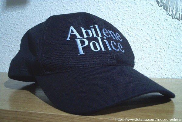 Policia Abilene (Texas U.S.A.)