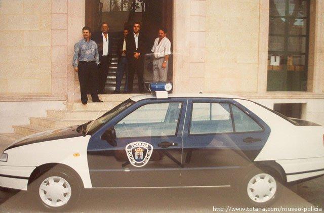 Vehículo Patrulla Policía Local Totana