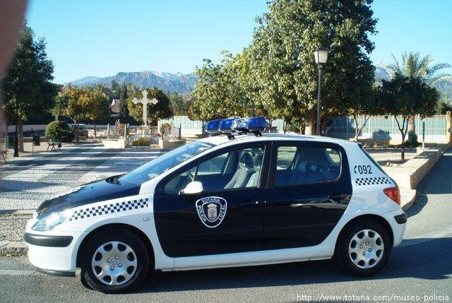 Vehículo Policía Local Totana