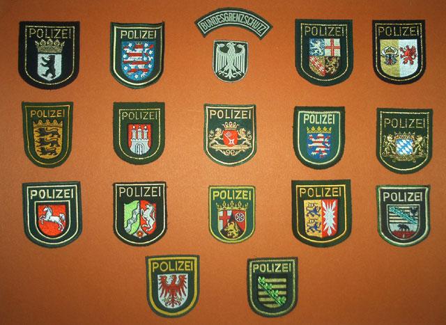 Emblemas de brazo ALEMANIA