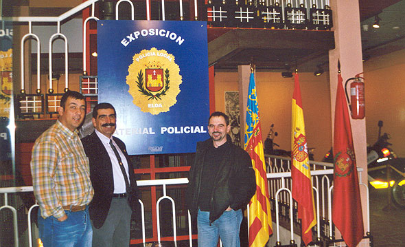 2ª Exposición de Material Policial 2002  (Elda) Alicante