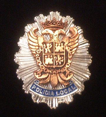Placa metalica Toledo