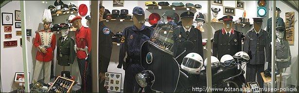 Vista panoramica Museo Material Policial